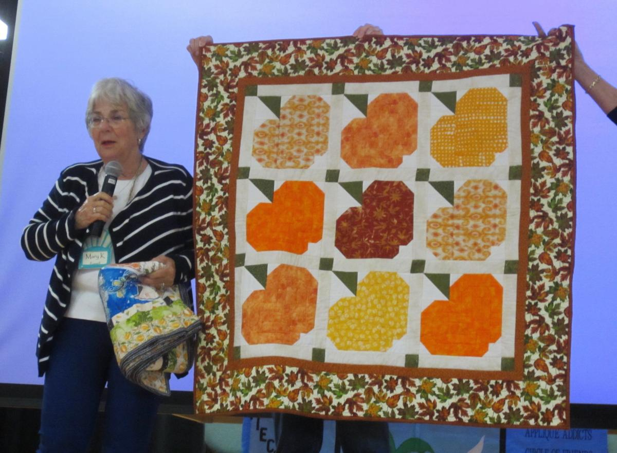 Mary Russell-IBK's Quilt