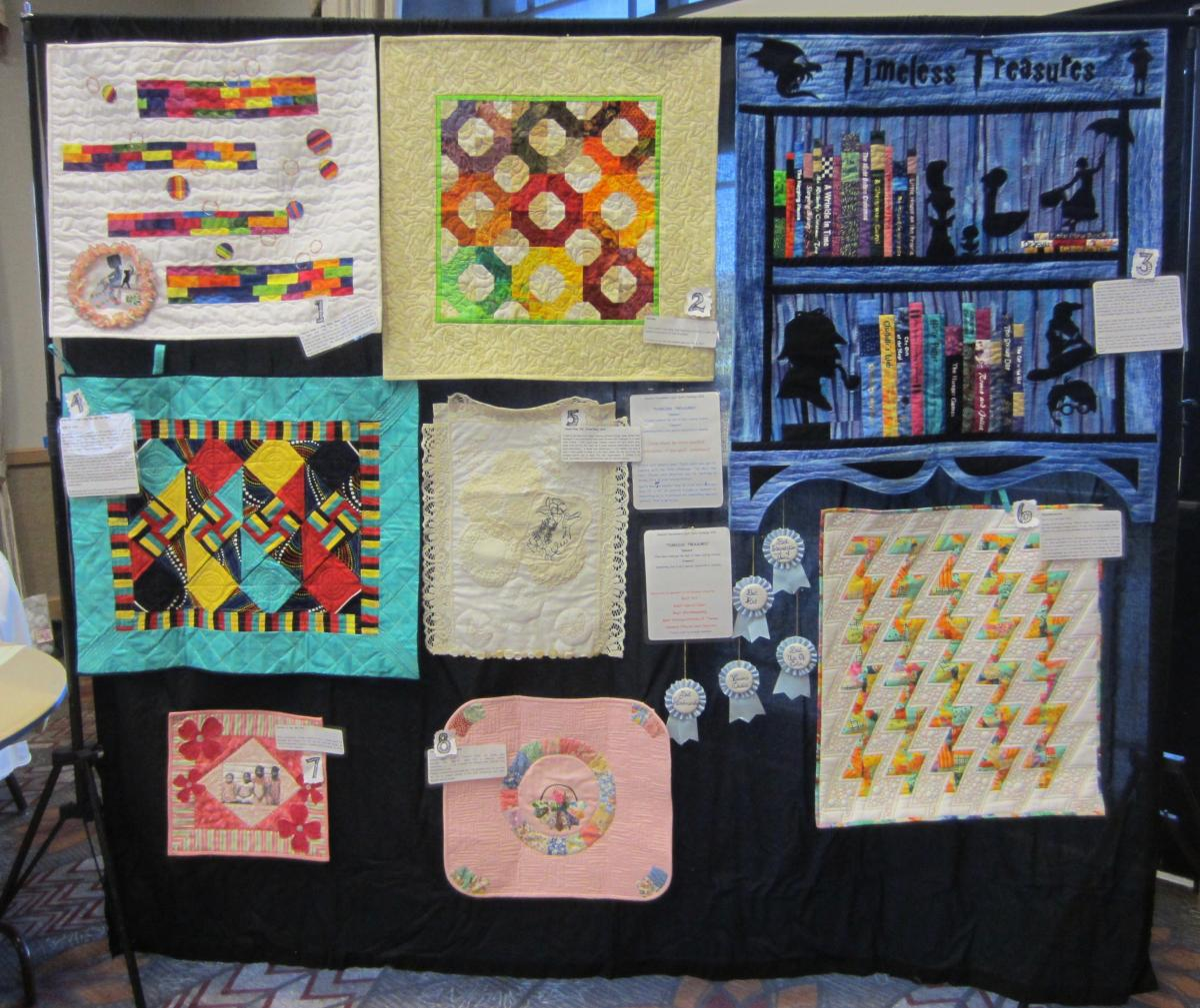 Timeless Treasures Quilt Challenge